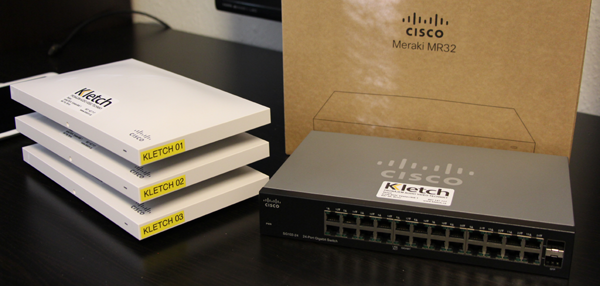 cisco meraki wifi pronajem
